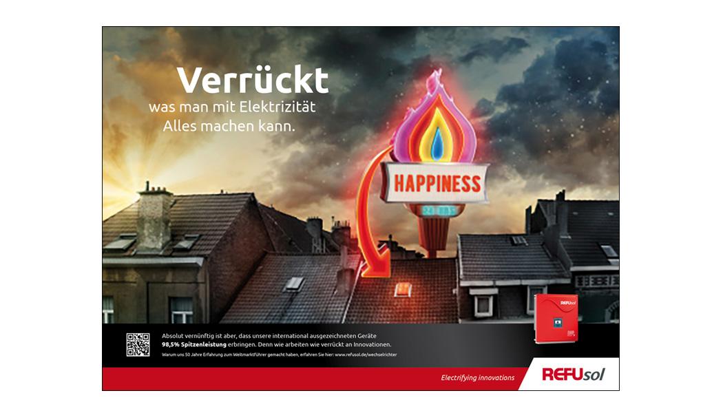 Strom Werbekampagne