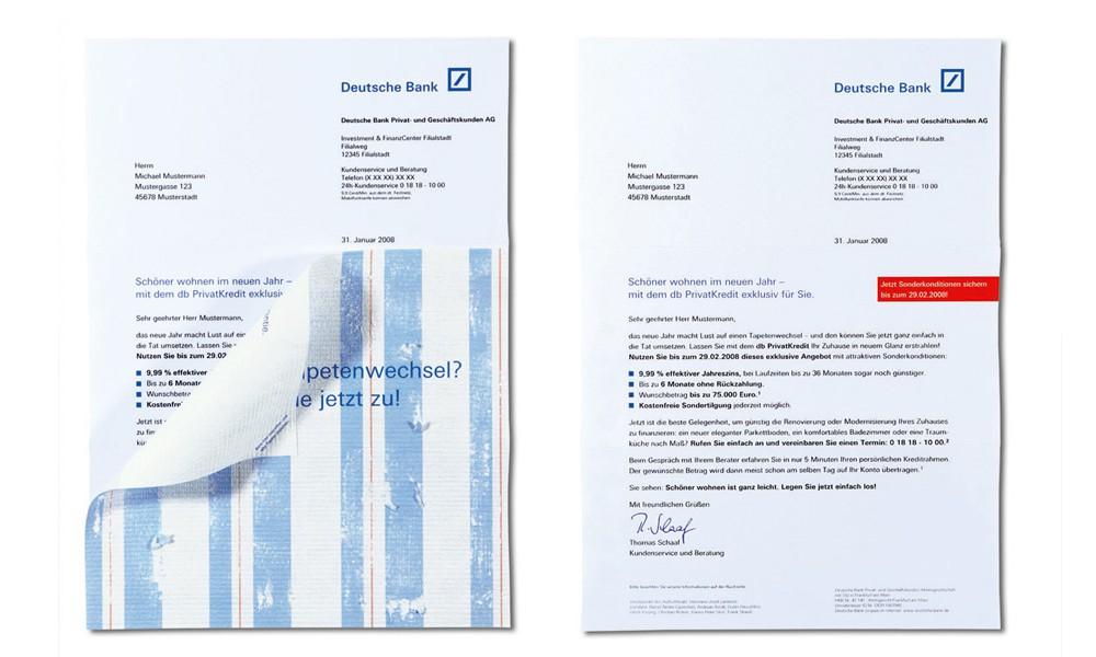 Deutsche Bank Direkt Mailing