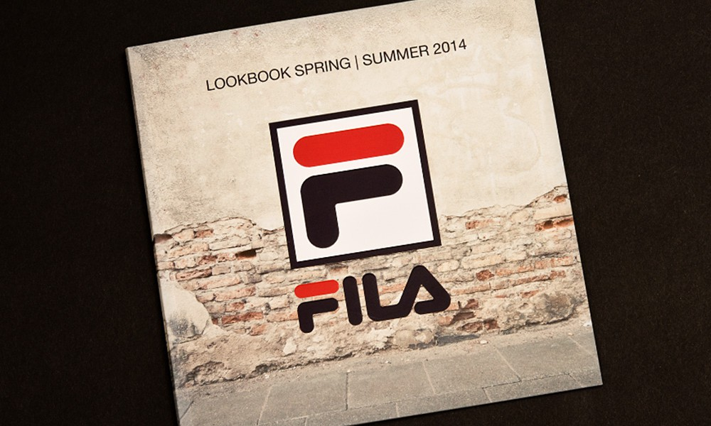 FILA Broschüren Design 1