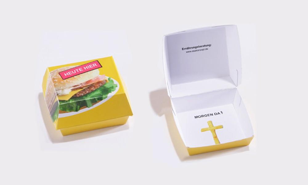 Ernährungsberatung Fast Food Mac Donalds Mailing