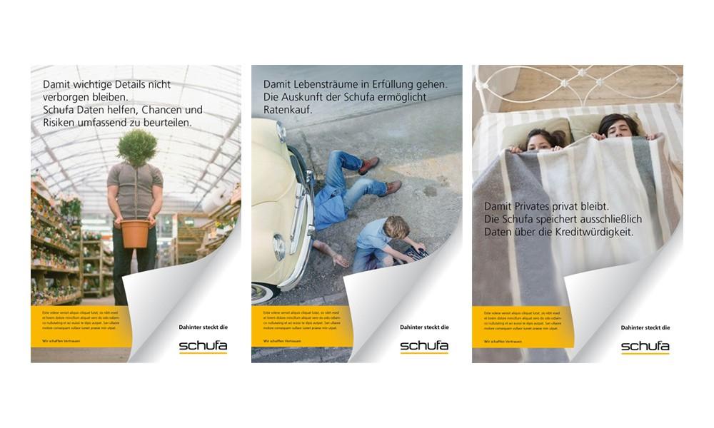 Schufa Anzeigee Werbung Marketing