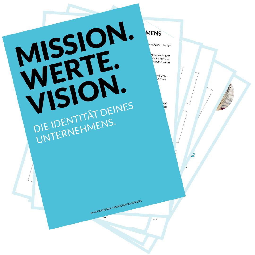 Freebie-Mission-Werte-Vision-Übung